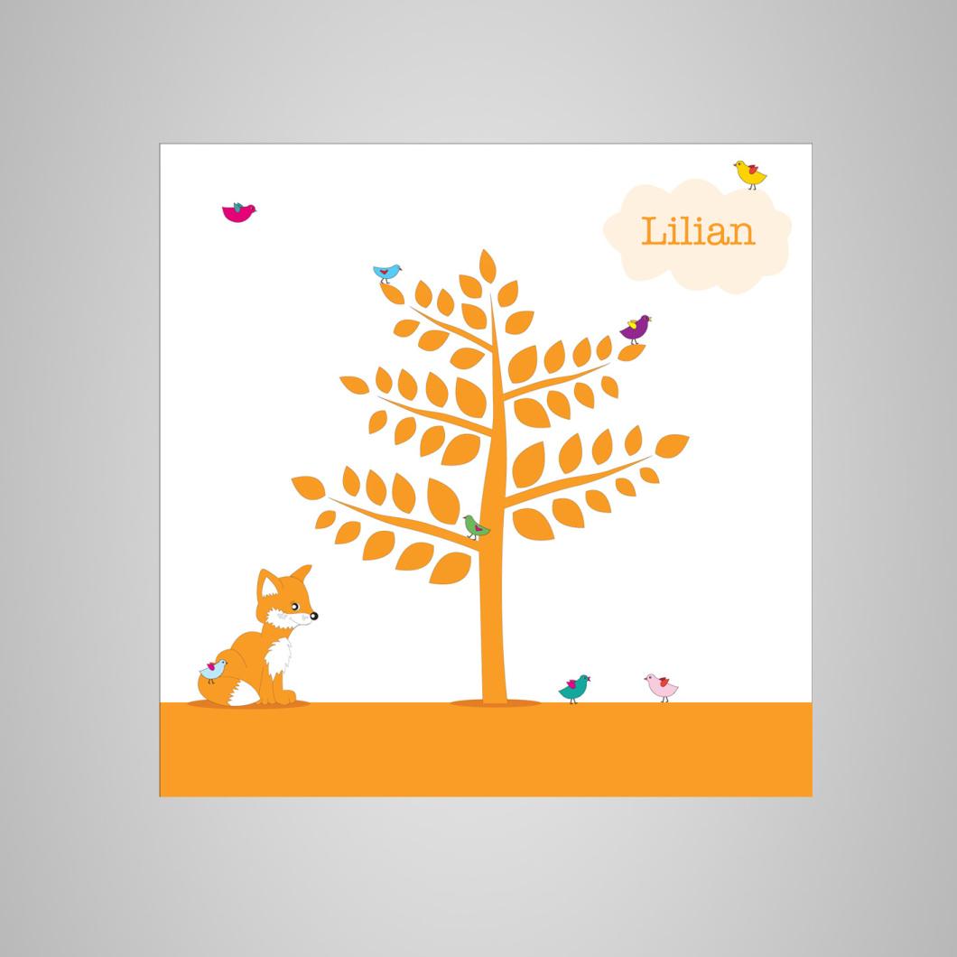Geboortekaartje Lilian