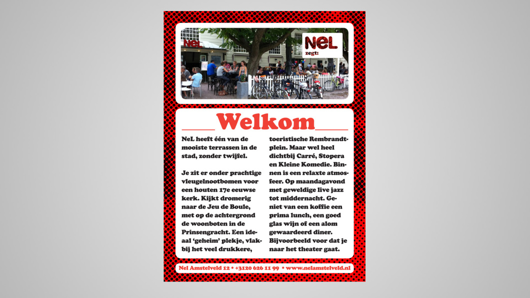 Nel advertentie
